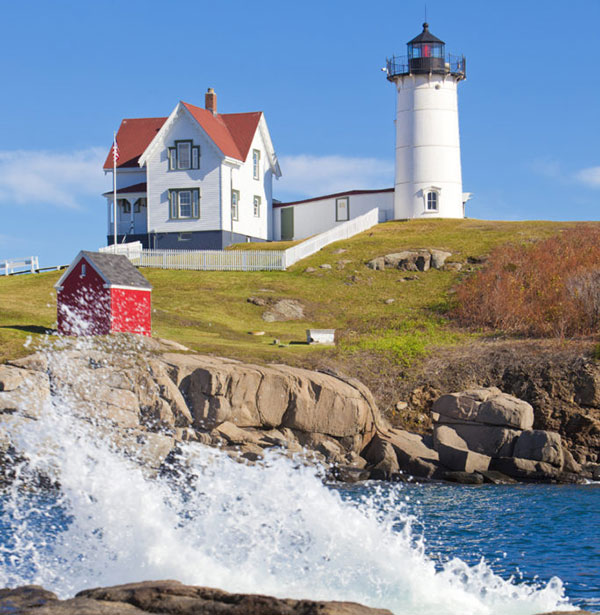 The Cape Neddick Lighthouse