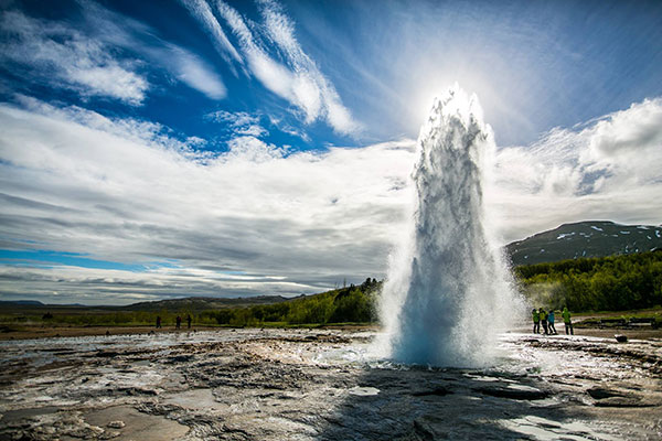 Geysir Geothermal Eruptions